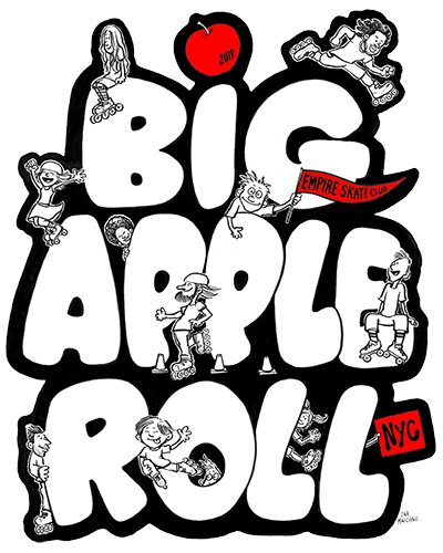 Big Apple Roll 2019 logo